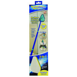 Clean Reach 4 in. W Scrub Pad Mop Kit