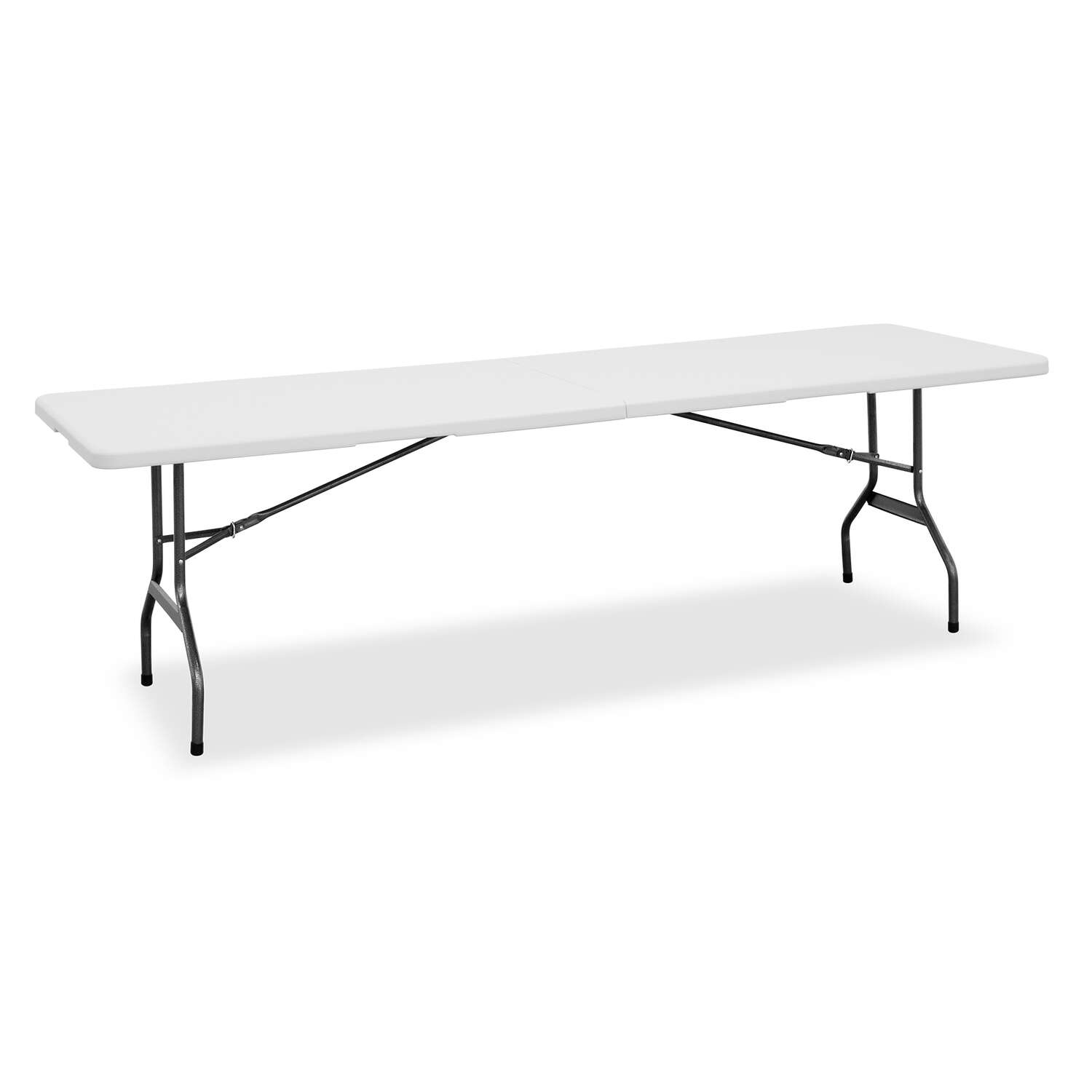 Living Accents  29-1/4  H x 30  W x 96  L Rectangular  Folding Table