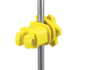 Dare Products  Electric-Powered  Electric Fence Insulator  Yellow
