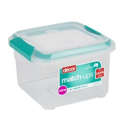 Decor  Match-Ups  5.9 cup Food Storage Container  1 pk Clear