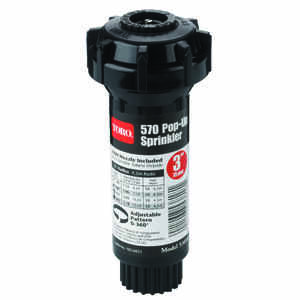 Toro  570Z Pro Series  3 in. H Adjustable  Pop-Up Sprinkler