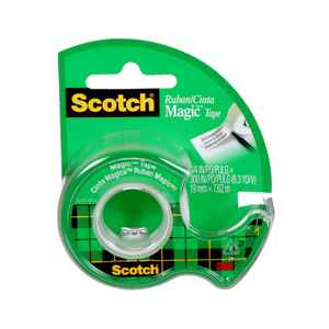 Scotch  3/4 in. W x 300 in. L x 3/4 in. W x 300 in. L Tape  Clear