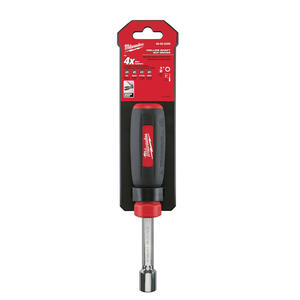 Milwaukee  1/2 in. SAE  Hollow Shaft Nut Driver  7 in. L 1 pc.