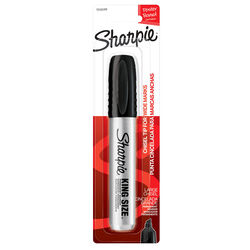 Sharpie King Size Black Chisel Tip Permanent Marker 1 pk