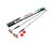 Zipwall  ZipPole  Telescoping 12 ft. L x 1 in. Dia. Aluminum  Extension Pole
