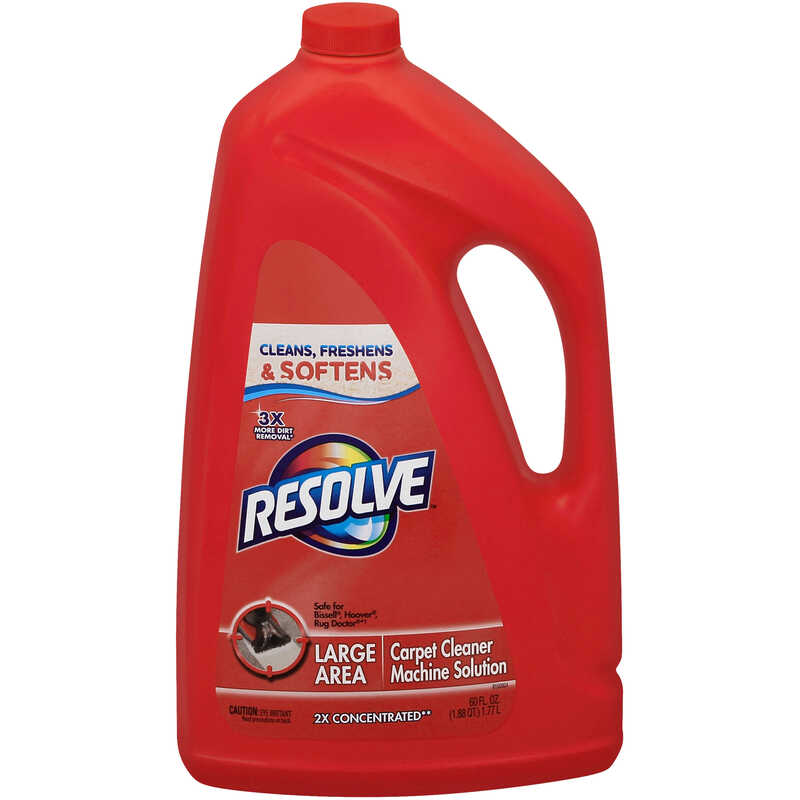 Resolve  Carpet Cleaner  60 oz. Liquid  Concentrated
