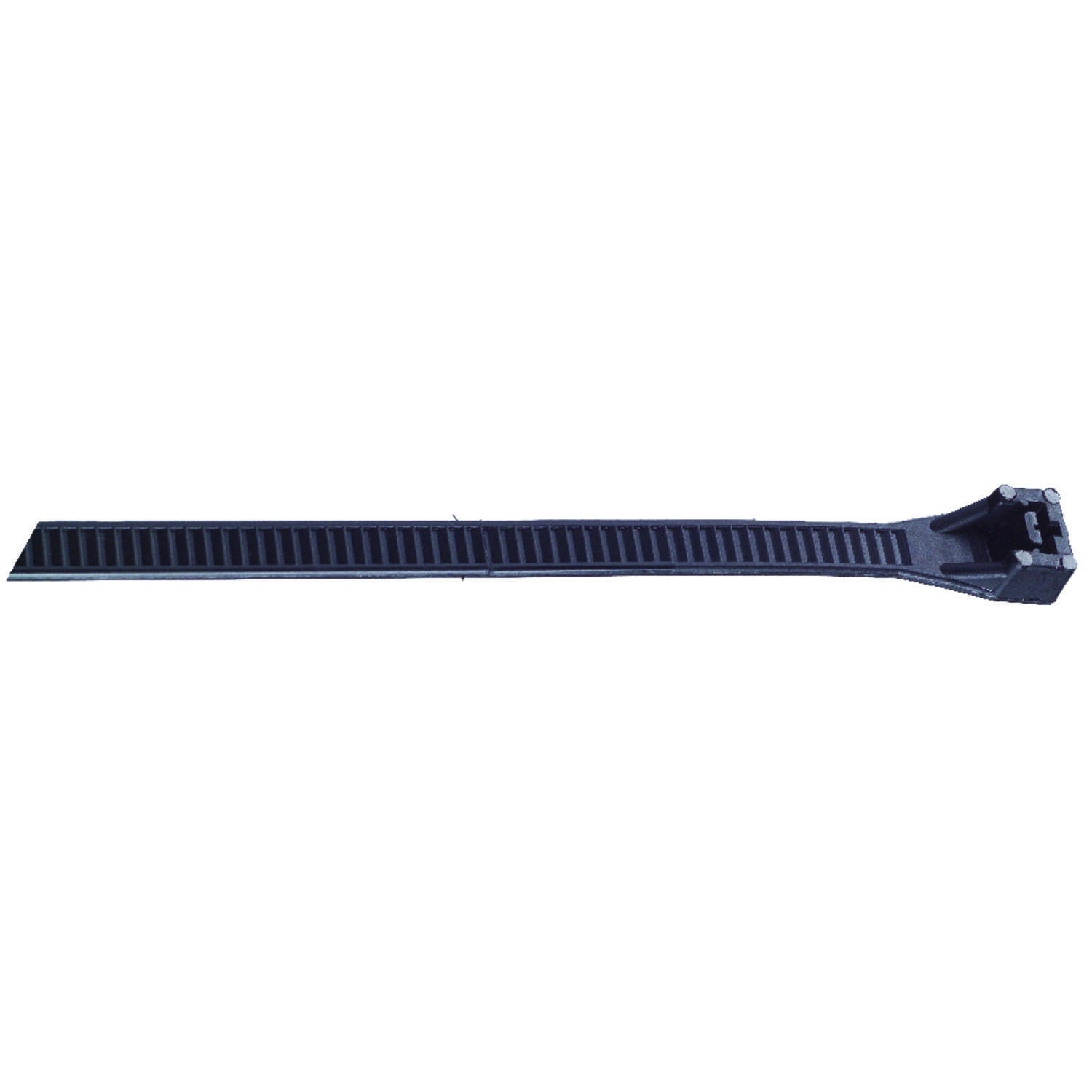 Gardner Bender  18 in. L Black  Cable Tie  10 pk