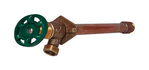 Prier  1/2 in. Sweat  Dia. x 3/4 in. Dia. MIP  6 in. Brass  Antisiphon Frost-Proof Freezeless Wall F