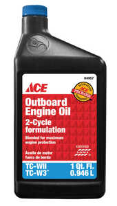 Ace  TC-W3  2 Cycle Engine  Motor Oil  1 qt.