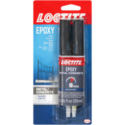 Loctite  Metal/Concrete  High Strength  Liquid  Epoxy  0.85 oz.