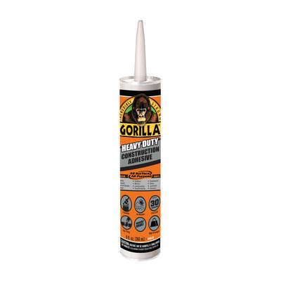 gorilla all purpose construction adhesive 9 oz