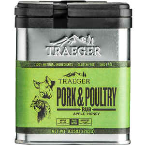 Traeger  Apple and Honey  Pork and Poultry Rub  9.25 oz.