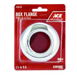 Ace  1-1/2 in. Metal  Box Flange
