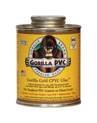 Gorilla PVC Gold Yellow Primer and Cement For CPVC 16 oz.