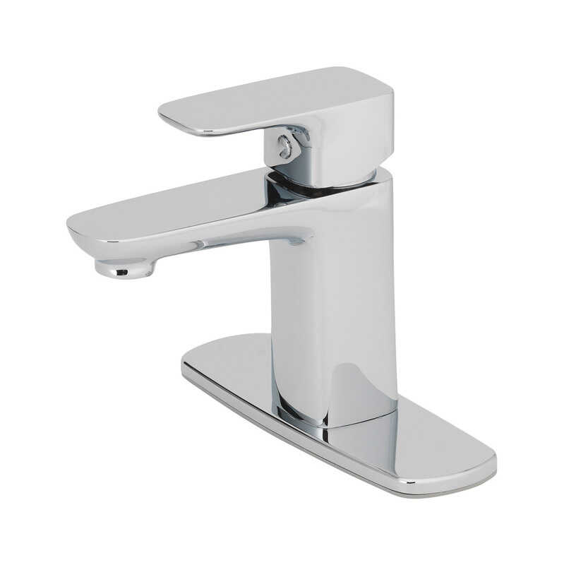 OakBrook  Modena  Chrome  Single Handle  Lavatory Pop-Up Faucet  2 in.
