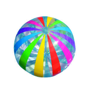 Intex  Multicolored  Vinyl  Inflatable Jumbo Beach Ball