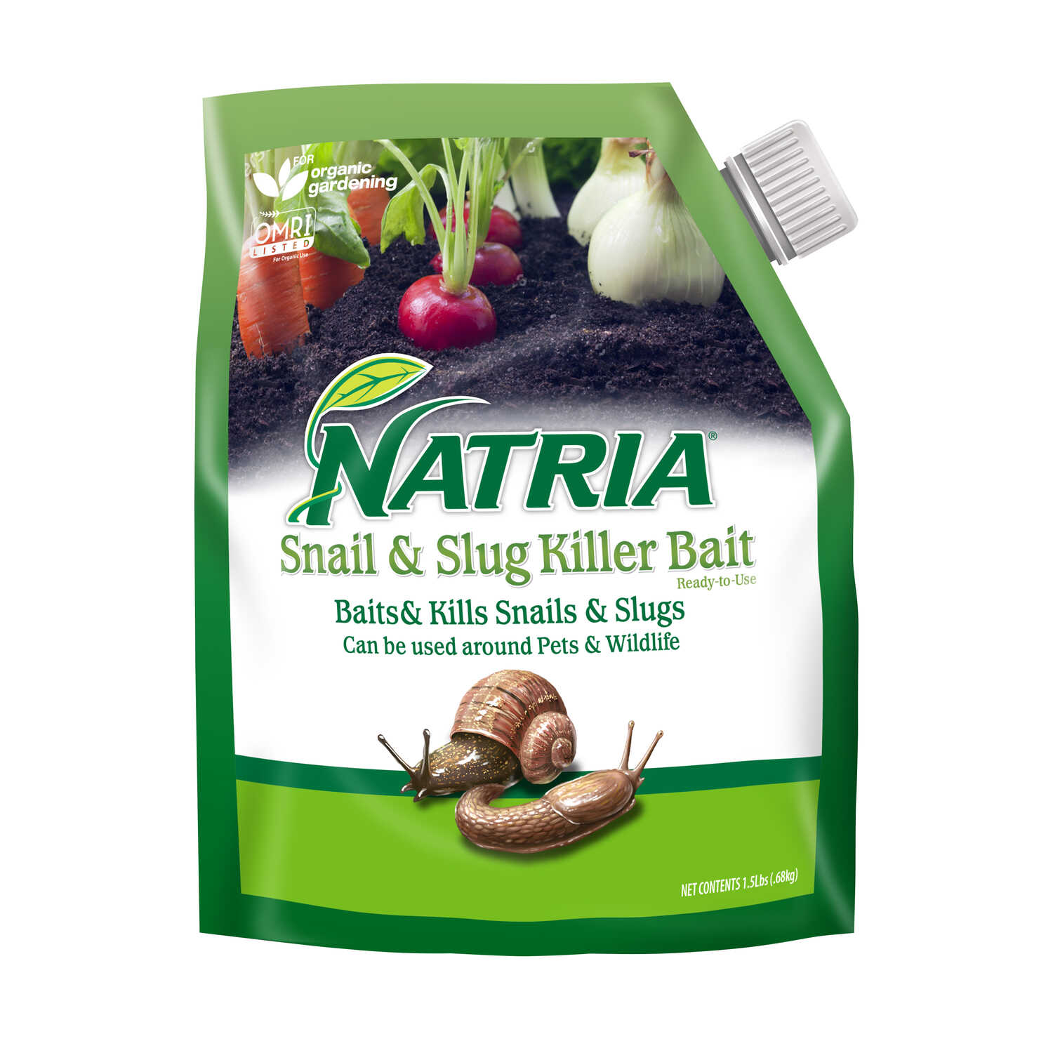 Natria  Slug and Snail Bait  1.5 lb.