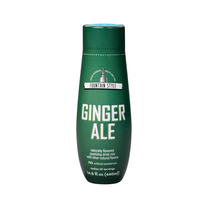 Sodastream  Ginger Ale  Soda Mix  14.8 oz. 1 pk