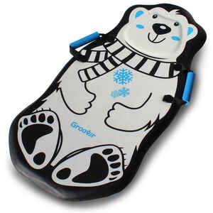 Flexible Flyer  Polar Bear  Foam  Sled  36 in.