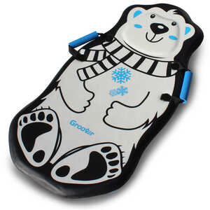 Flexible Flyer  Penguin and Polar Bear  Foam  Sled  36 in.