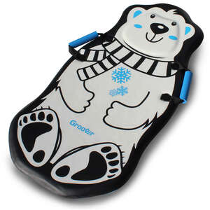 Flexible Flyer  Penguin and Polar Bear  Foam  Foam  Sled  36 in.