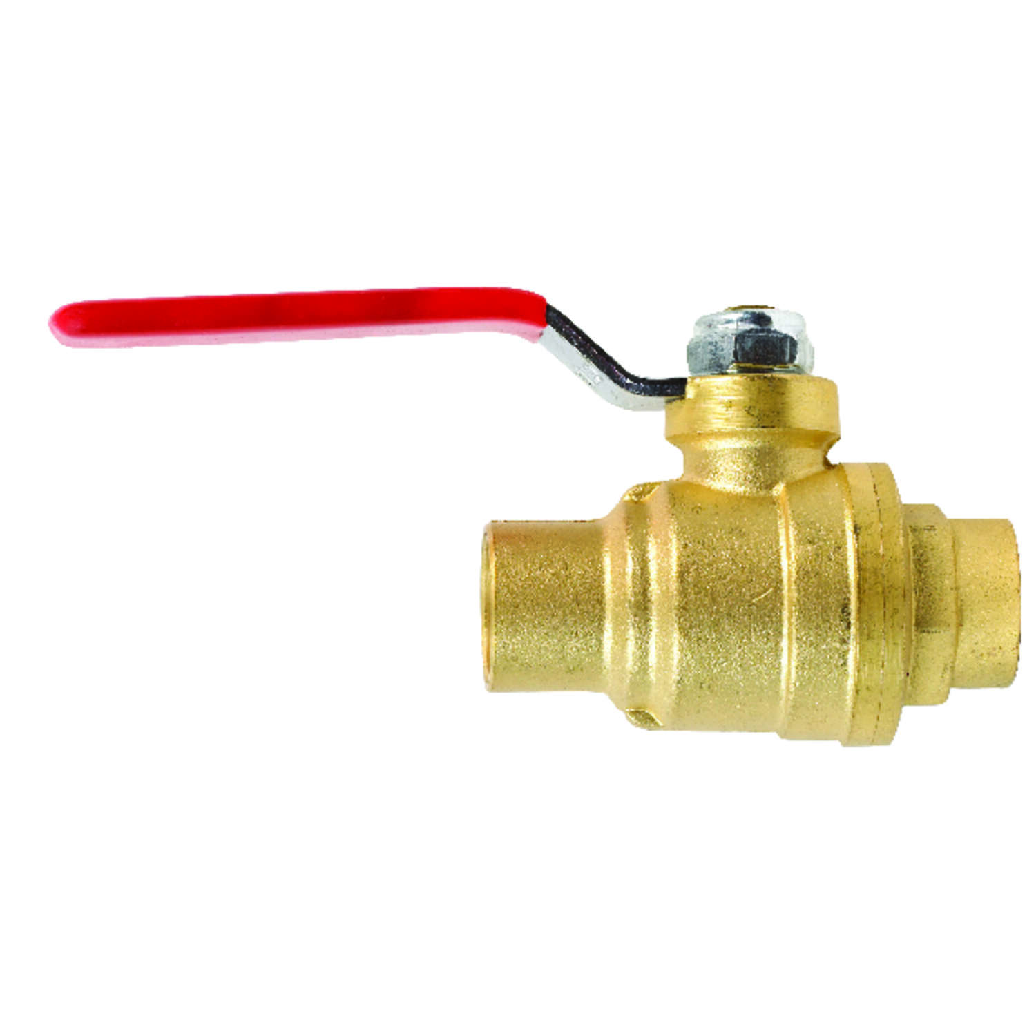 B&K  ProLine  1/2 in. Brass  Sweat  Ball Valve  Full Port
