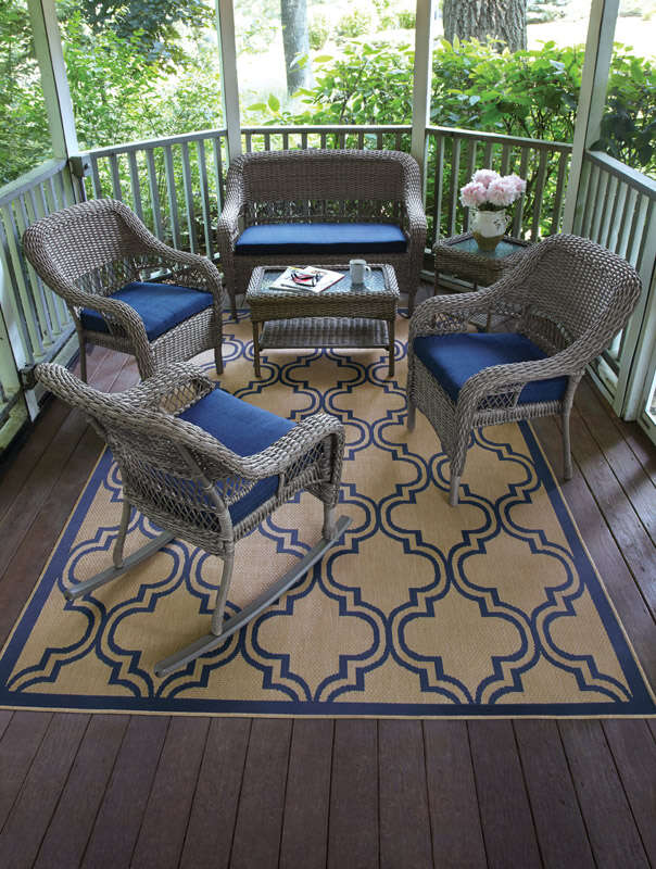 Living Accents  Stacking  Wicker  Chair