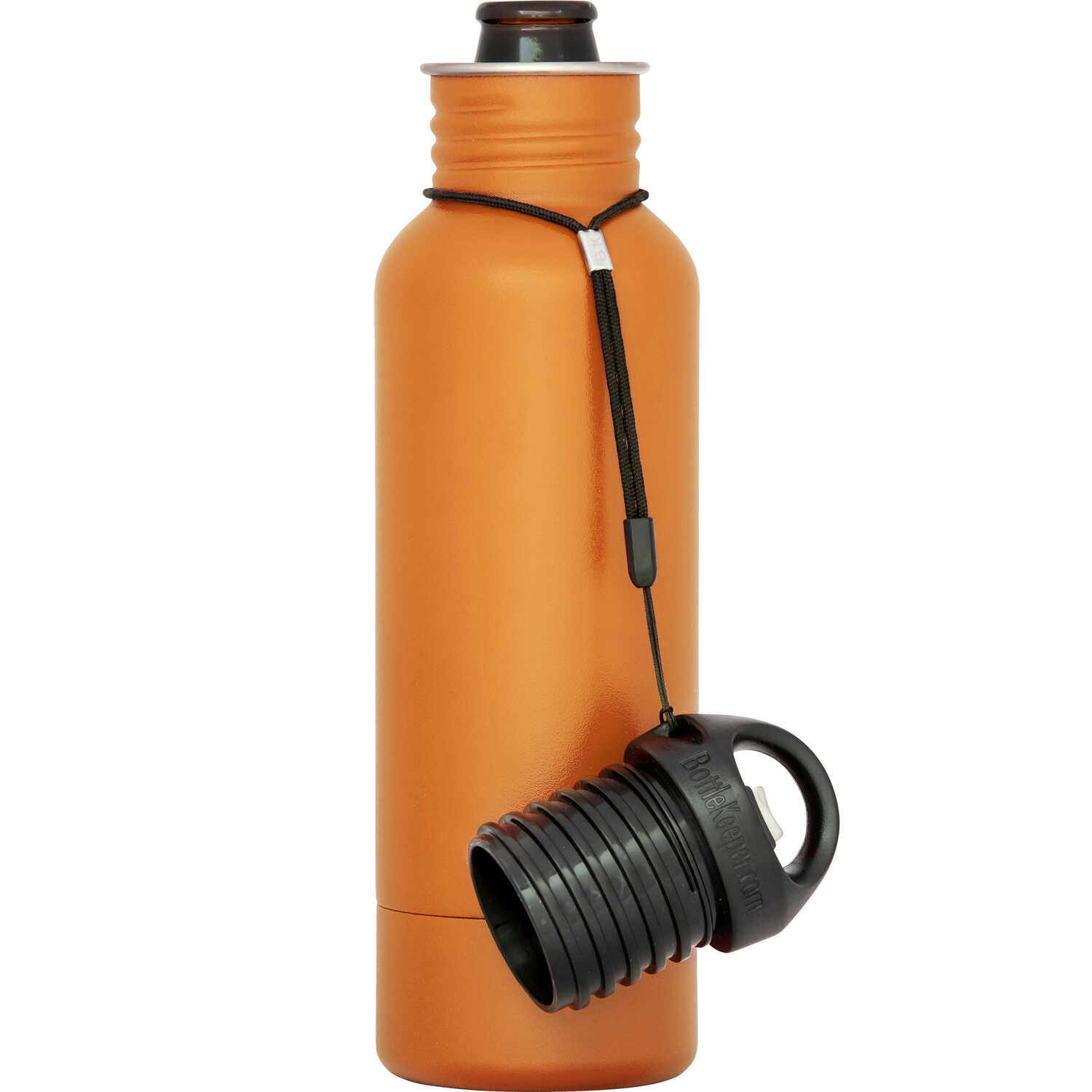 BottleKeeper  The Standard 2.0  Insulated Bottle Koozie  12 oz. Orange  1 pk