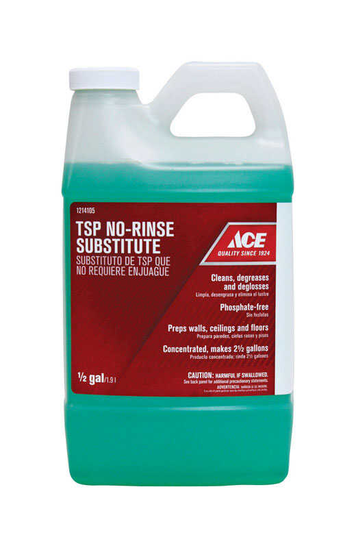 Ace  No Scent TSP No-Rinse Substitute  1/2 gal. Liquid