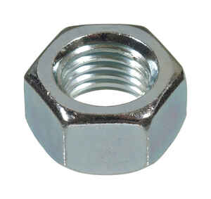 Hillman  9/16 in. Zinc-Plated  Steel  SAE  Hex Nut  50 pk