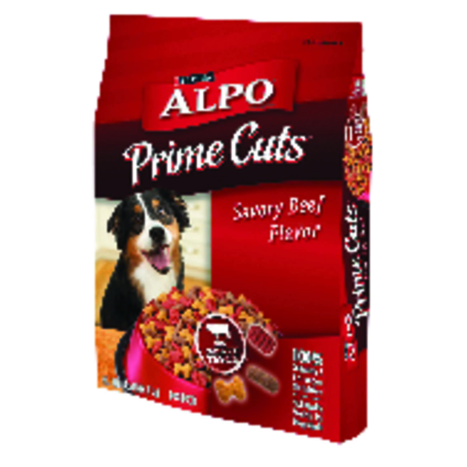 Purina  Alpo Prime Cuts  Savory Beef  Dry  Dog  Food  16 lb.