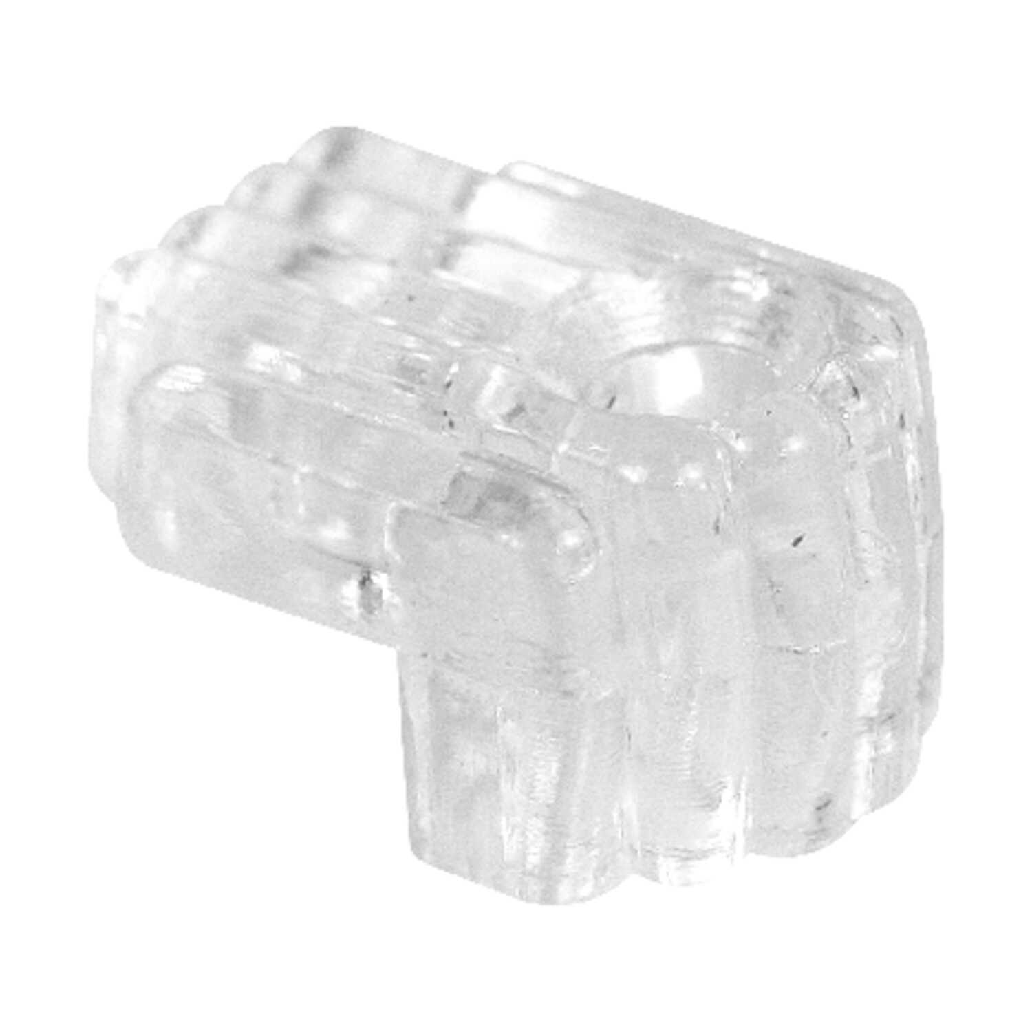 Prime-Line  Acrylic  Mirror Holder Clip  20 lb. 6 pk Small