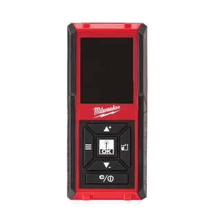 Milwaukee  4.2 in. L x 1.9 in. W Laser Distance Meter  150 ft. Red  1 pc.
