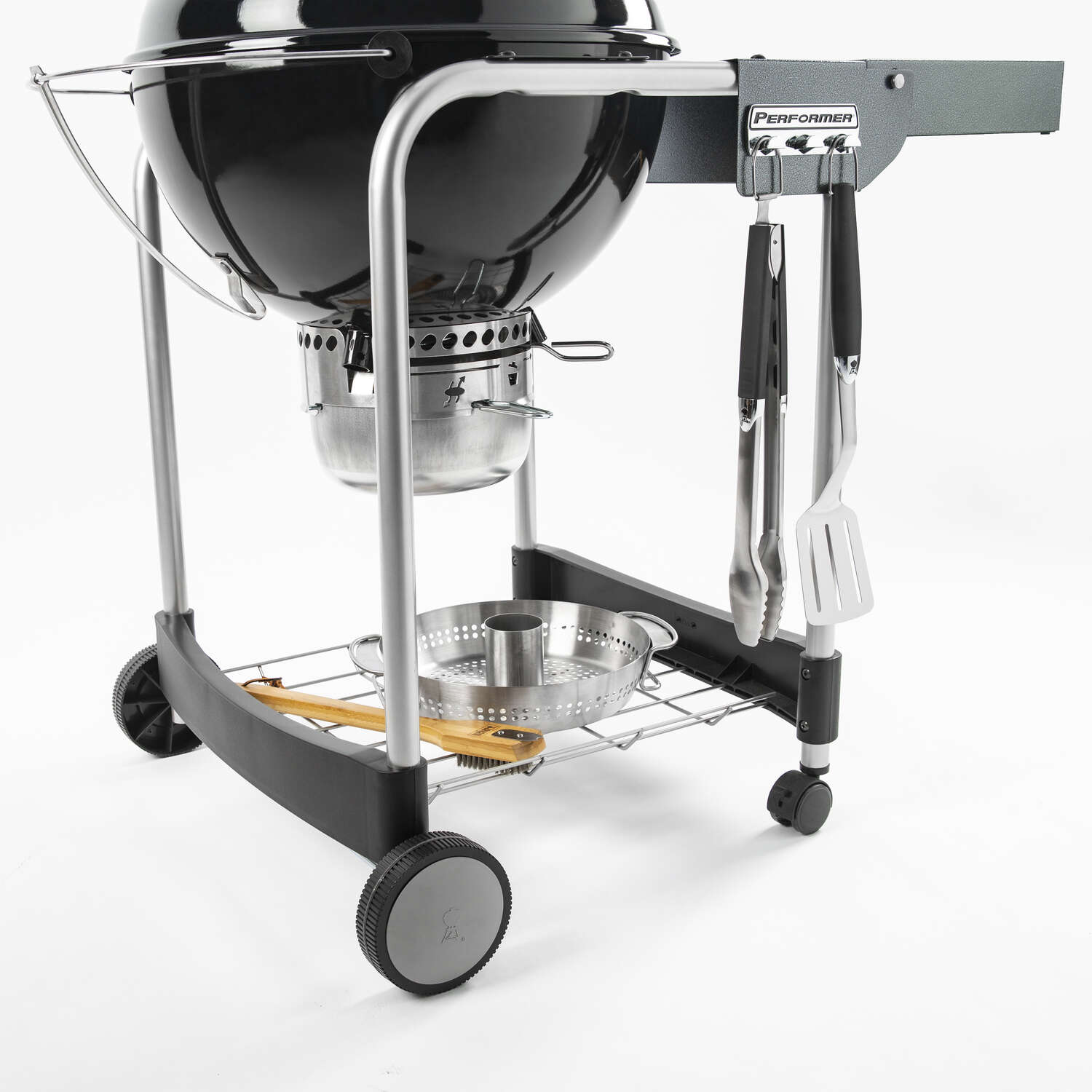 Weber  Performer Charcoal  22 in. W Black  Kettle Grill  Charcoal