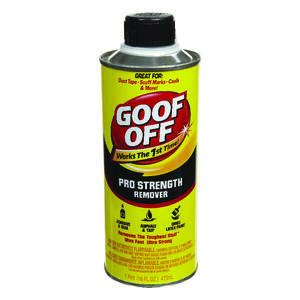 Goof Off  Pro Strength  All Purpose Remover  1 pt.