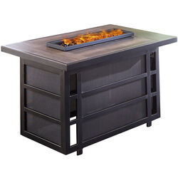 Hanover  Chateau  Coffee Table  Propane  Fire Pit  24.29 in. H x 40.35 in. W x 25.86 in. D Steel