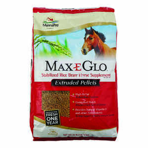 Max-E-Glo  Solid  Stabilized Rice Bran  For Horse 40 lb.