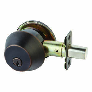 Ace  Oil Rubbed Bronze  Single Cylinder Deadbolt