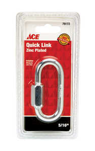 Ace  Zinc-Plated  Steel  Quick Link  3 in. L 1760 lb. 1 pk