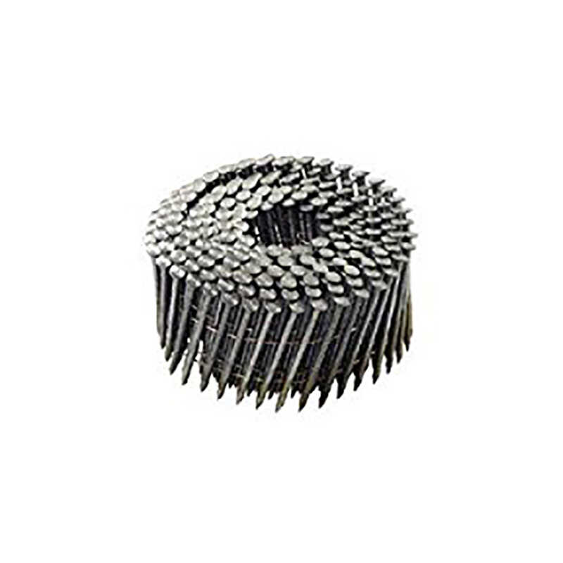 National Nail  Pro-Fit  3-1/4 in. .131 Ga. Wire Coil  Framing Nails  15 deg. Smooth Shank  2500 pk