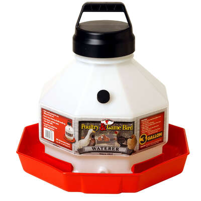 Little Giant  3 gal. Plastic  Nesting Base