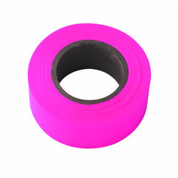 Irwin  Strait-Line  150 ft. L PVC  Flagging Tape  Pink
