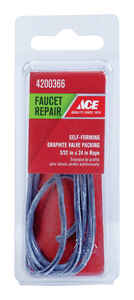 Ace  3/32  Dia. x 24 in. L Graphite  Valve Packing