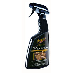 Meguiar's  Gold Class  Leather  Leather Cleaner and Conditioner  Liquid  16 oz.