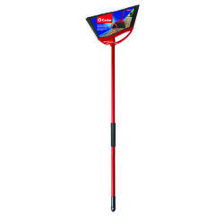 O-Cedar  Outdoor Power Corner  12 in. W Stiff  Plastic  Broom