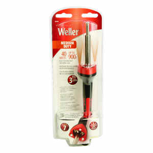 Weller  10.8 in. Corded  Soldering Iron Kit  40 watts Orange  1 pk