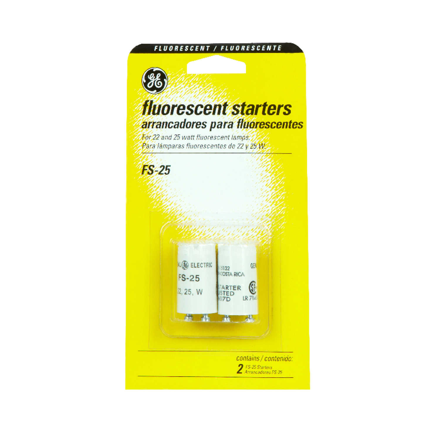 GE Lighting  FS-25  Fluorescent  Starter