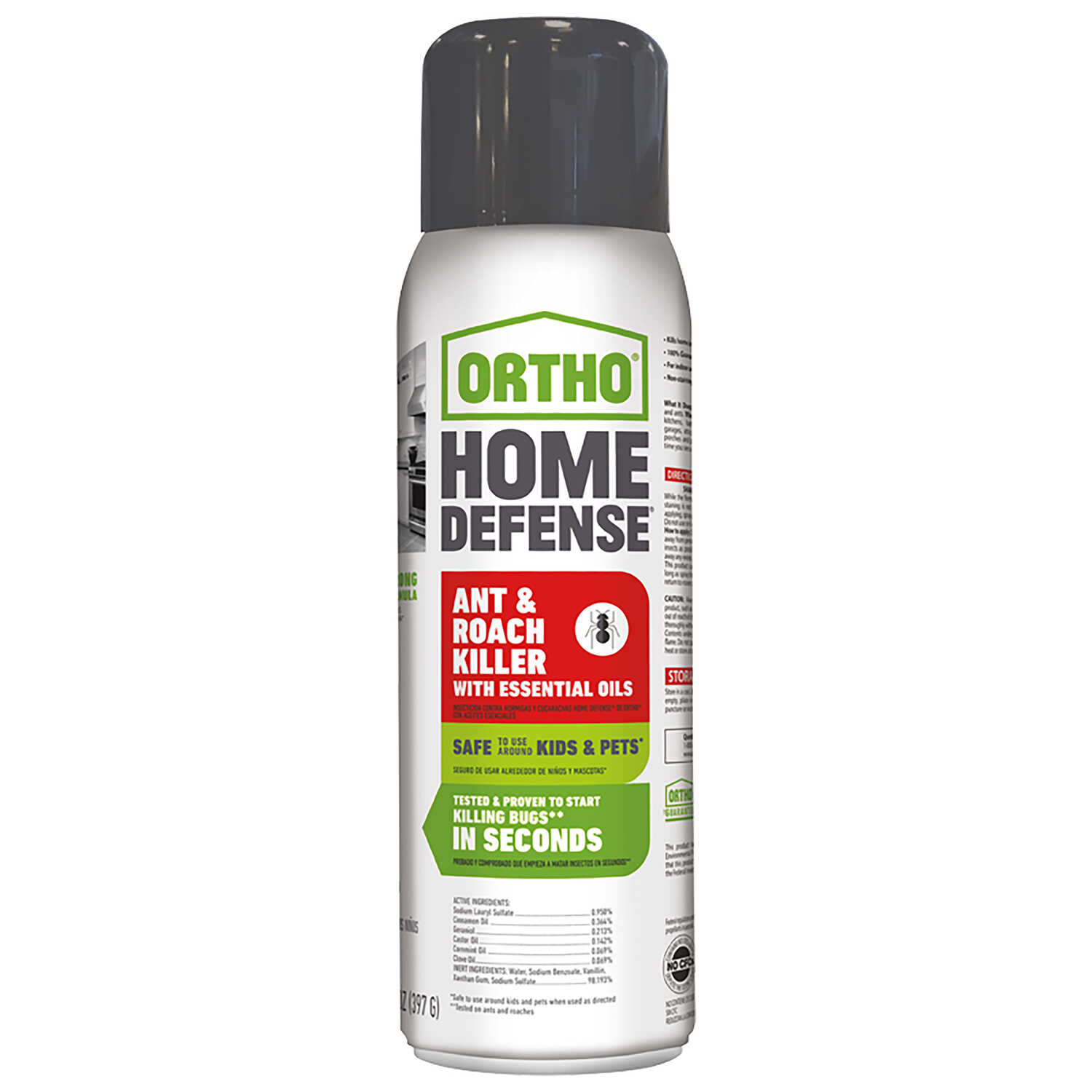 Ortho Home Defense Ant And Roach Killer 14 Oz.