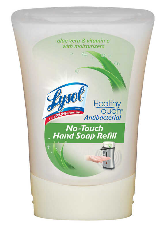 Lysol  Healthy Touch  Aloe Vera Scent Antibacterial 8.5 oz  Liquid Hand Soap