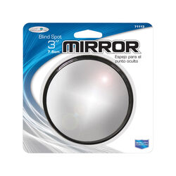 Custom Accessories  Silver  Blind Spot Mirror  1 pk